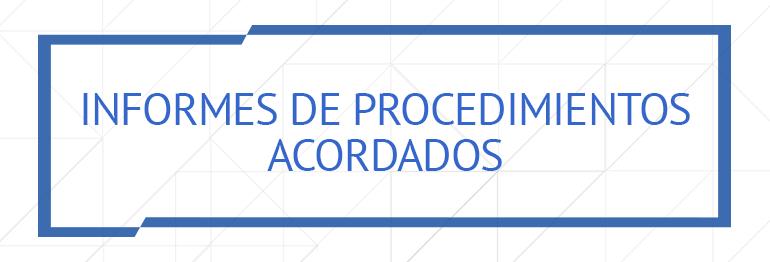 Informes de procedimientos acordados, Zaragoza